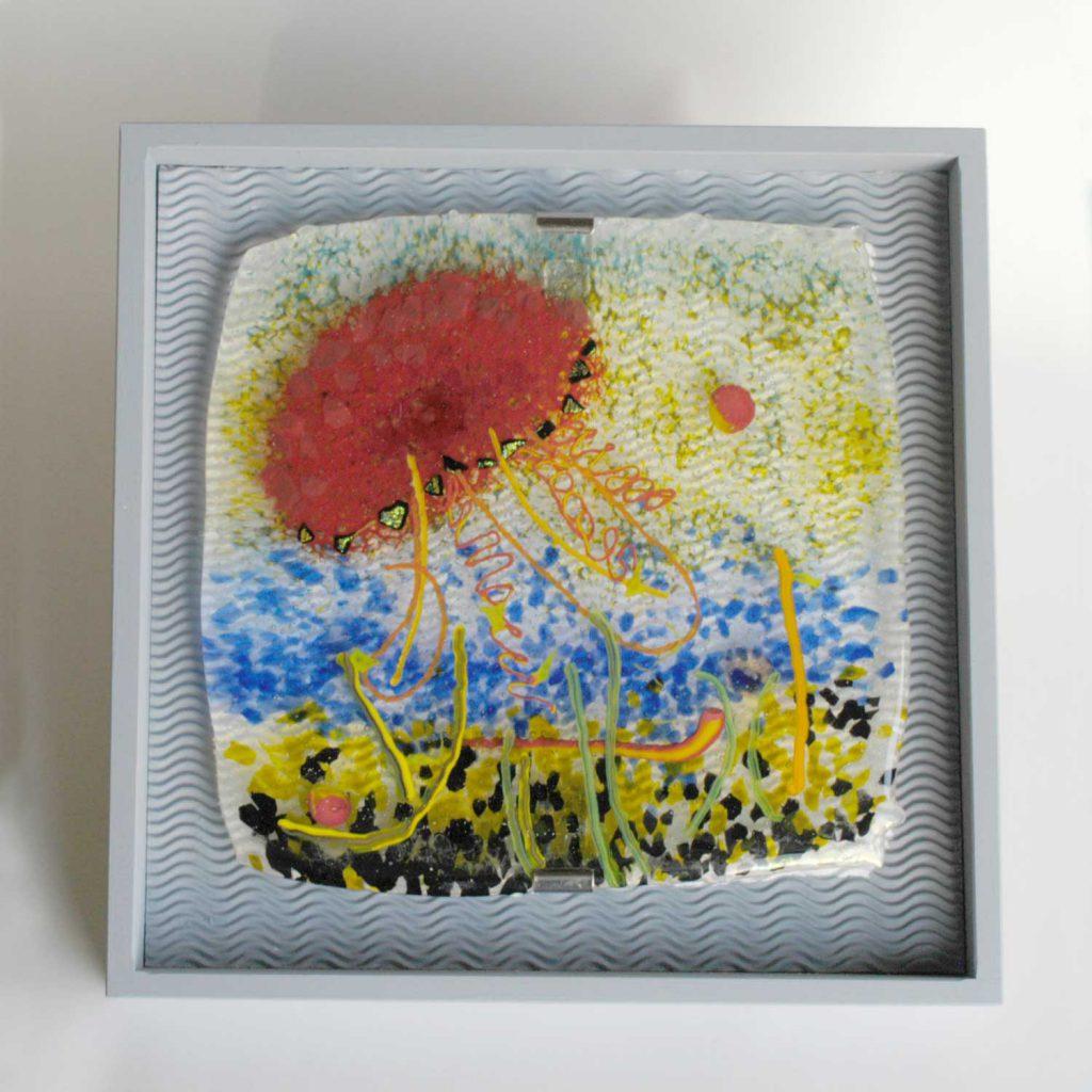 Feuerqualle ca 50 x 50 cm